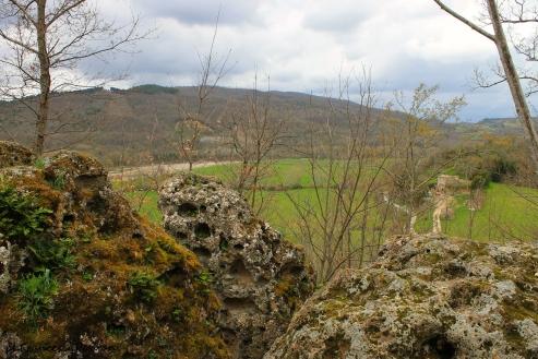 Poggio Rota, veduta della vallata con sullo sfondo il Monte Amiata. (copyright Francesca Pontani)