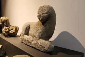 Museo_Archeoogico_Tuscania_leone_nenfro_Campanari