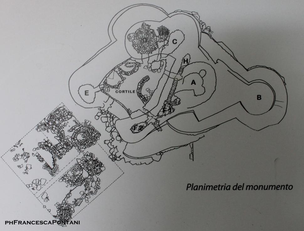 nuraghe_cuccurada_mogoro_planimetria