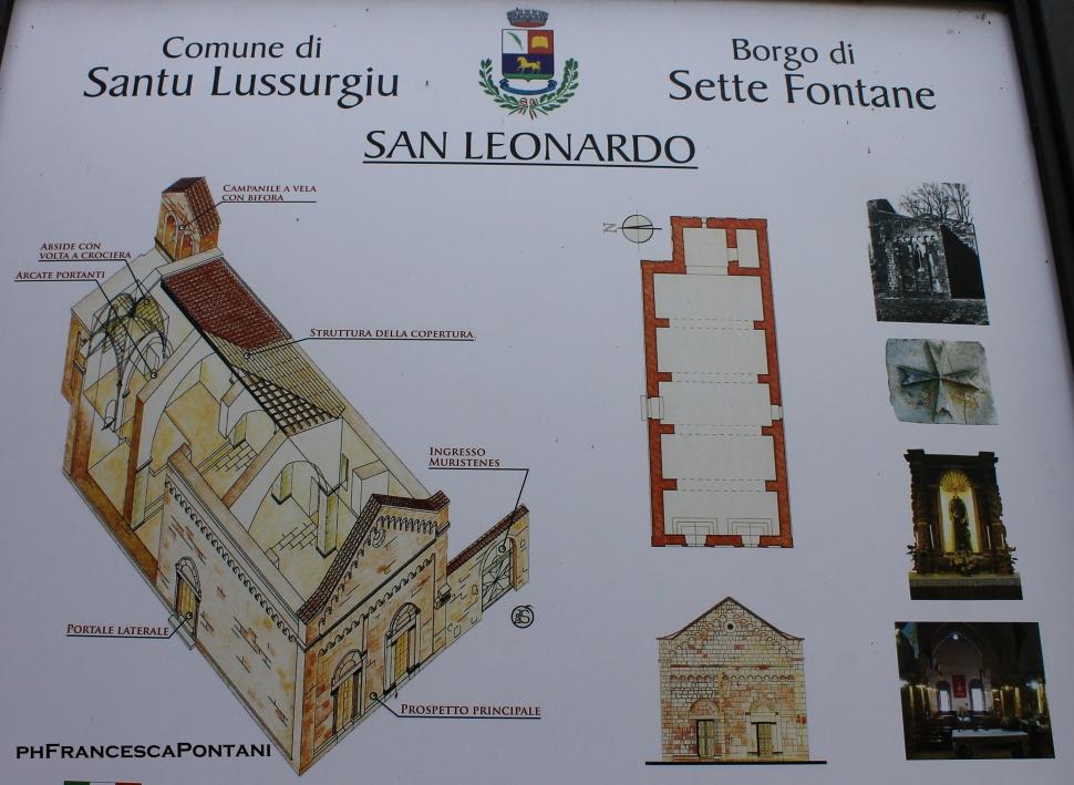 santu_lussurgiu_chiesa_san_leonardo_planimetria_sardegna_templari