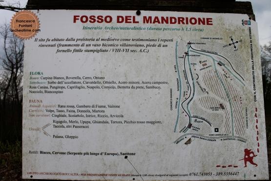 Valle_Oscura_Soriano_nel_Cimino_fosso_del_mandrione_cartina_evidenze_archeologiche
