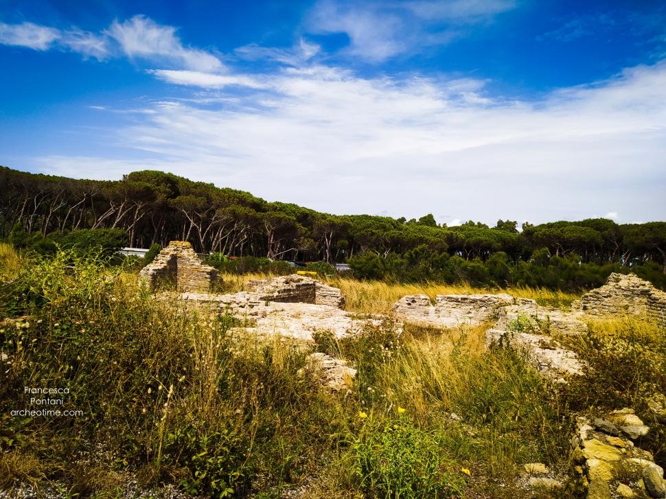 La Frasca-Civitavecchia-resti archeologici-villa romana-dettaglio-Francesca Pontani-ArcheoTime