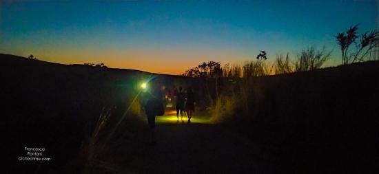 trekking per arrivare a Poggio Gallinaro-Tarquinia
